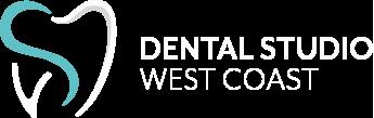 Dental Studio West Coast Logo White