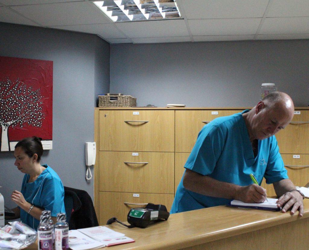 West Coast Dental Studio Reception Area