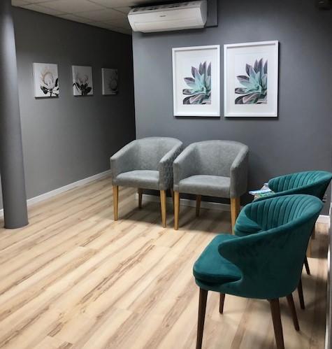 West Coast Dental Studio Waiting Area